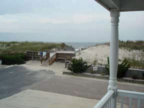 View of the ocean from 1st Floor Deck