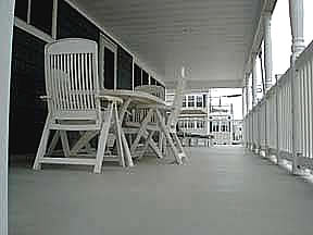 1st Floor East Deck