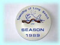 1989 Beach Badge
