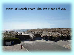 View Of Our Beach From 1st Floor Of 207