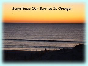 Changing Over To An Orange Sunrise